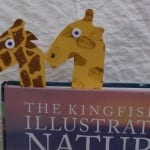 World Giraffe Day Easy Make Book Marks