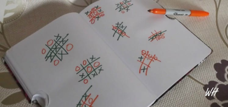 Noughts and crosses grids
