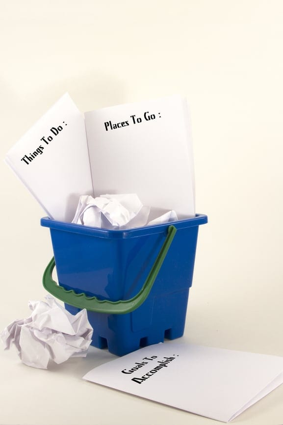 the bucket list paper two How to make a bucket list: you will find that some goals fit into two different ideas is to throw a bucket list party you can supply decorative paper.