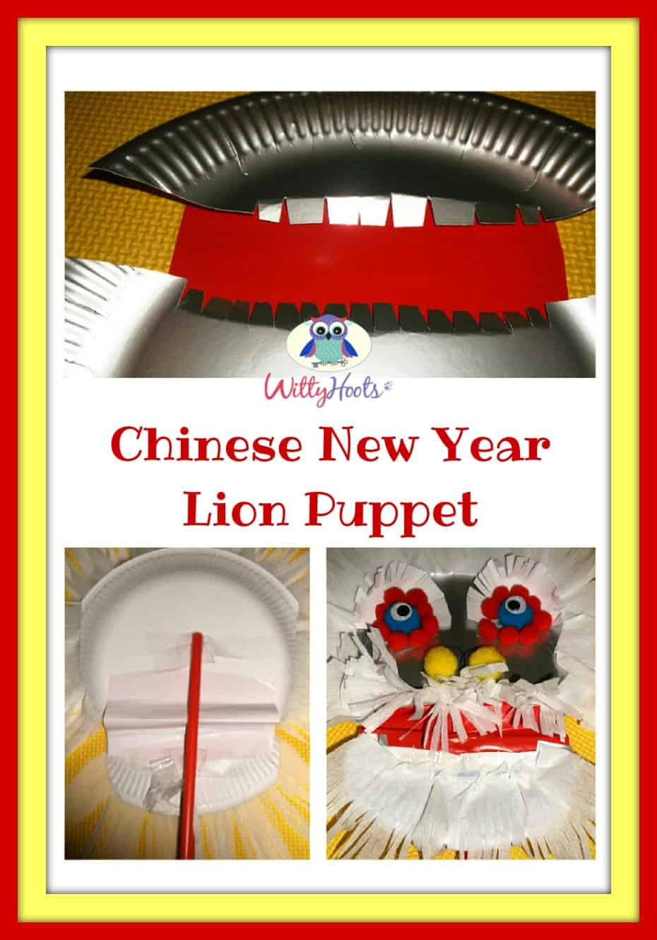 Chinese Lion Puppet