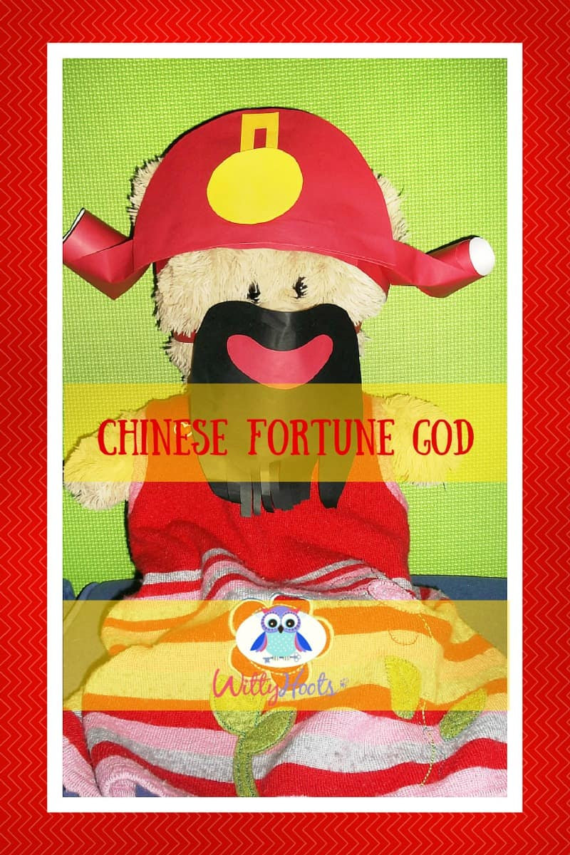 Teddy as Chinese Fortune God