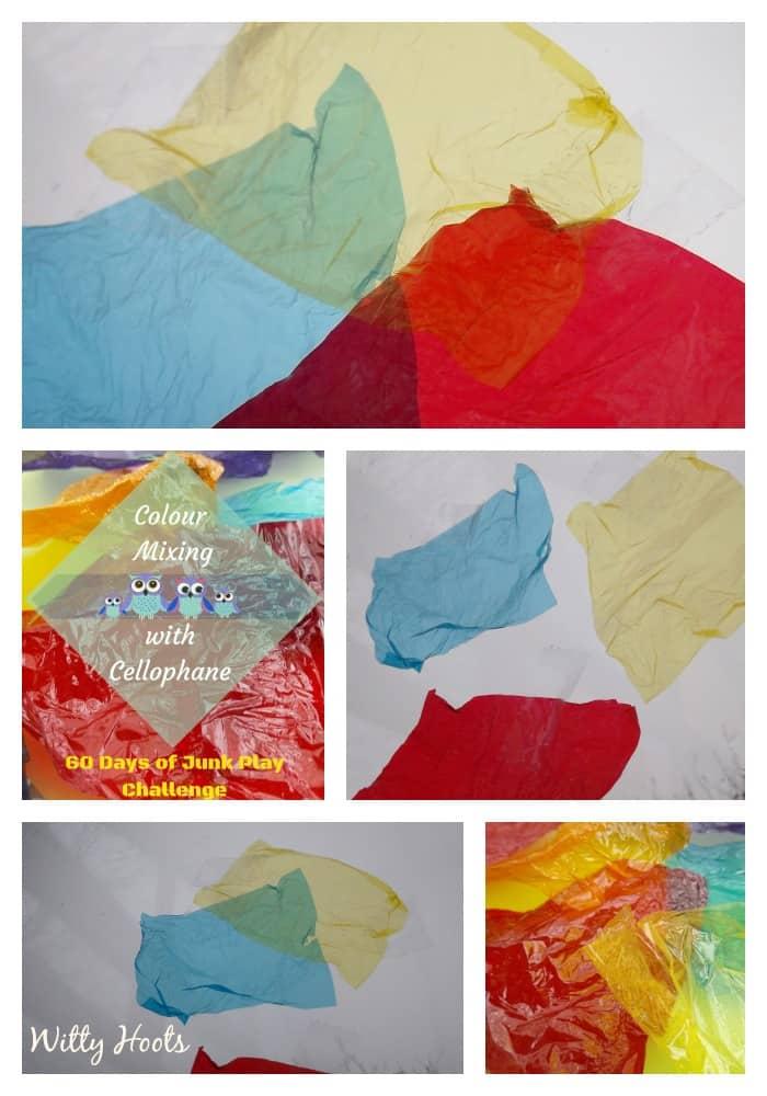 Colour Mixing collage