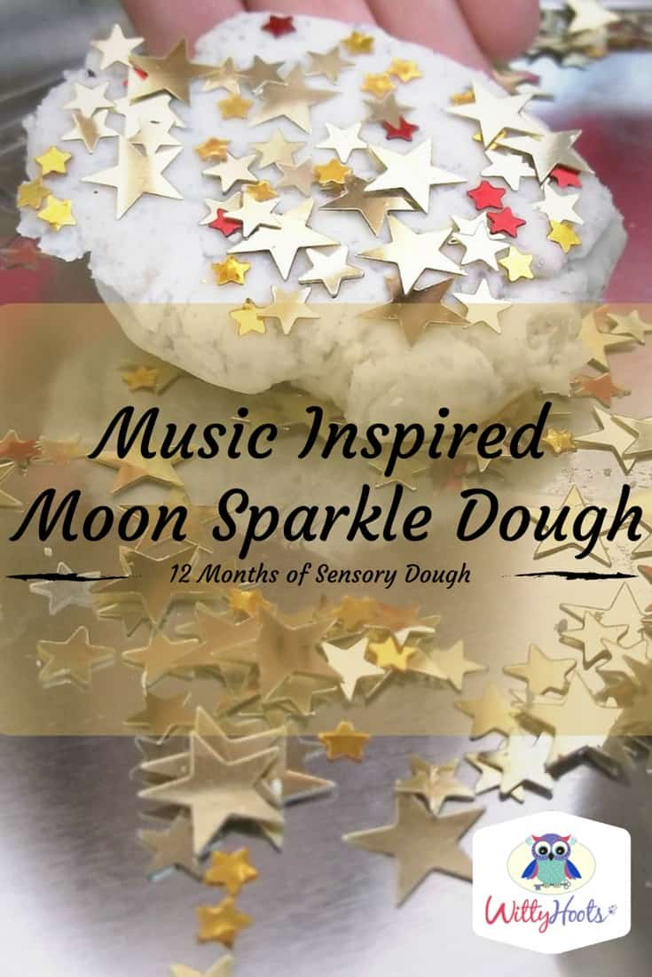 Moon Sparkle Dough Pin