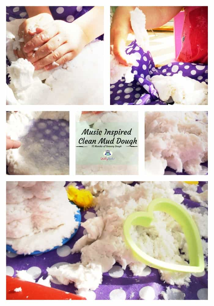 Music Inspired Clean Mud Dough