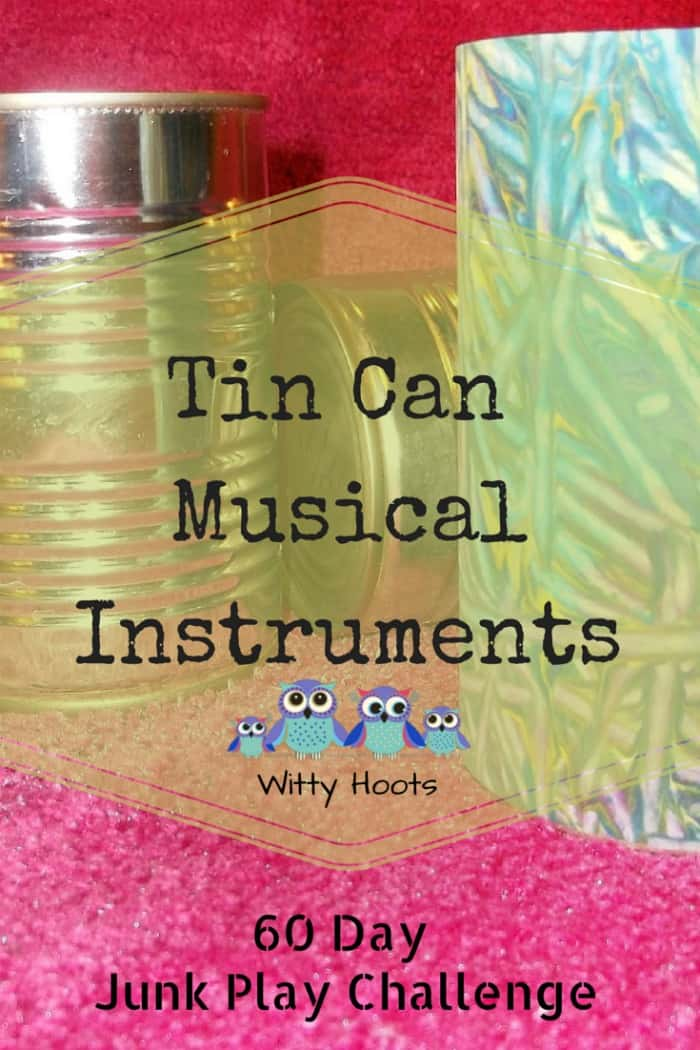 Tin Can Musical Instruments