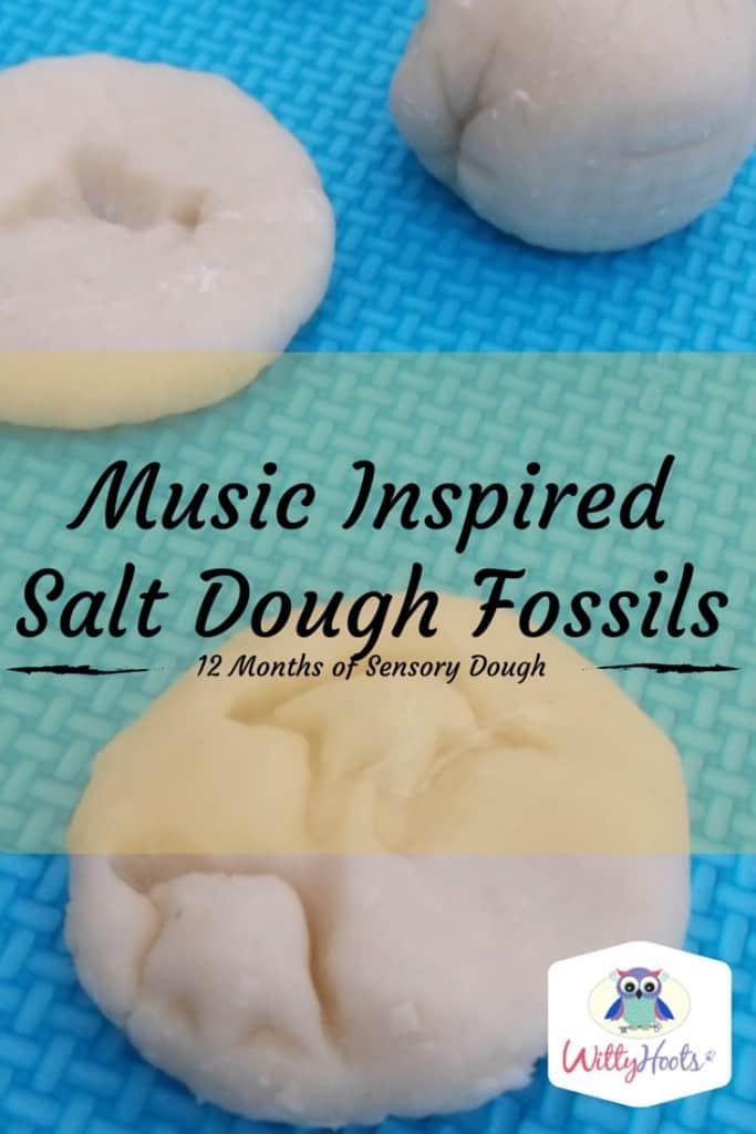Music Inspired Salt Dough