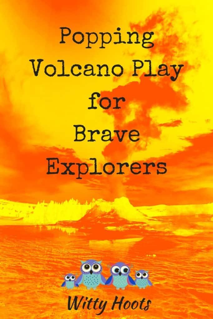 Volcanoes Pin