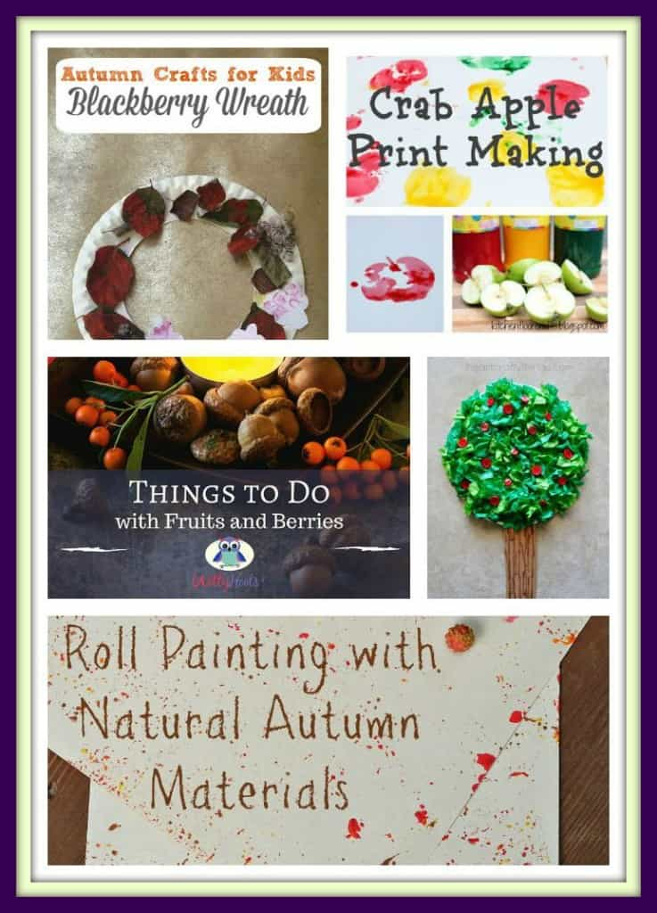 Fruits and Berries Crafts