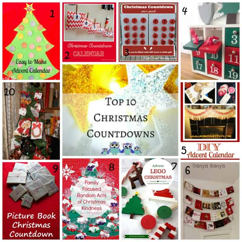 Top 10 Christmas Countdown Ideasfor Kids