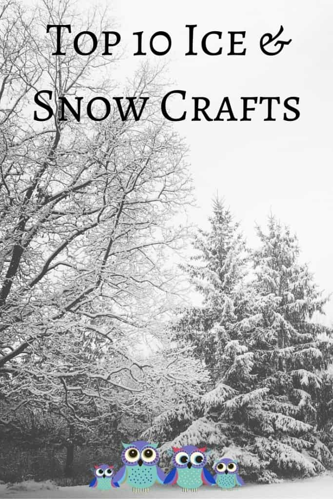 Top 10 Snow and Ice Crafts