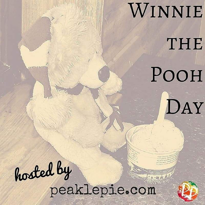 Winnie the Pooh Day Badge