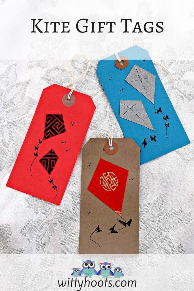 Kite Gift Tags Witty Hoots