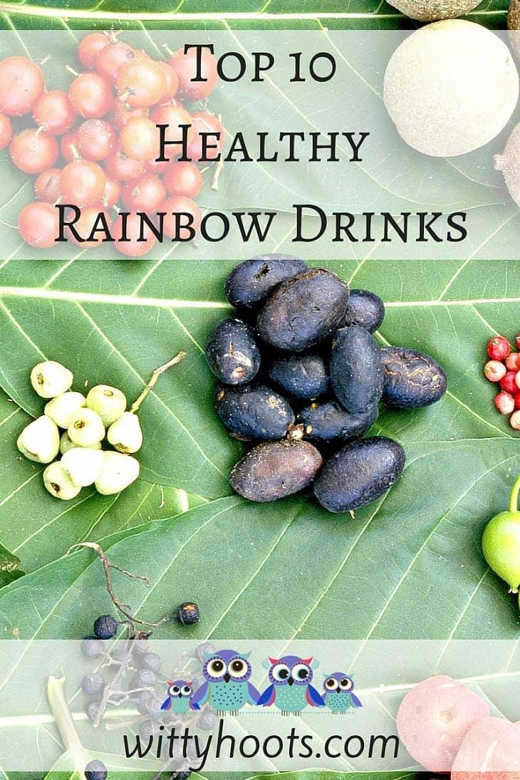 Top 10 Rainbow Drinks