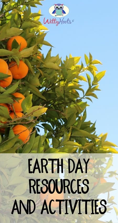 Earth Day Resources and Activities witty hoots