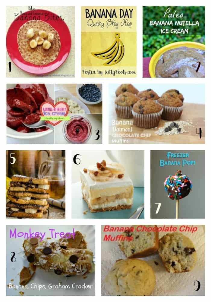Recipes Banana Day Round Up