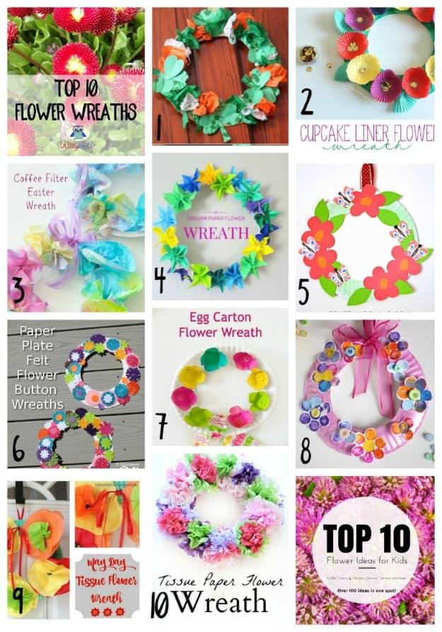 Top 10 Flower Wreaths