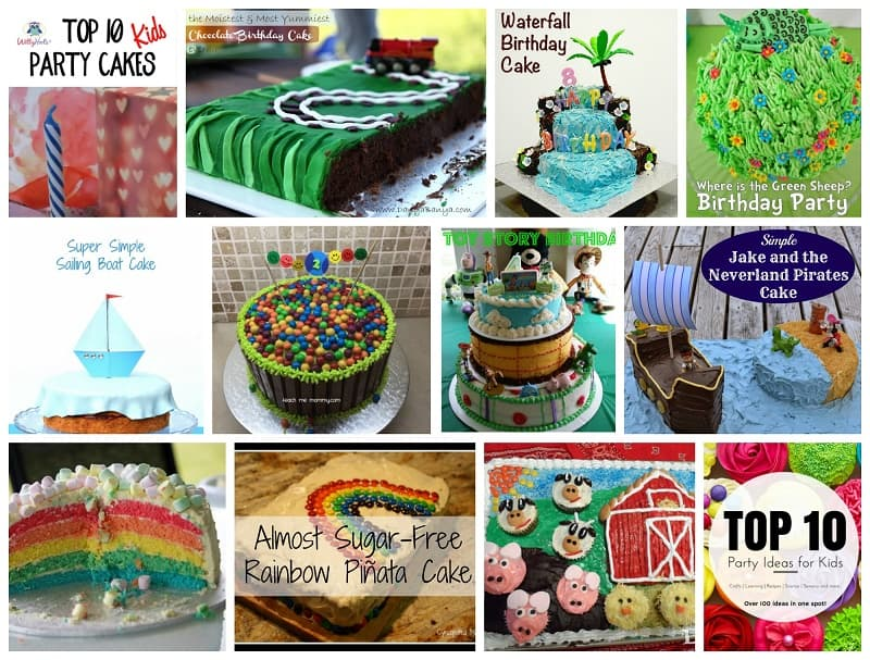 Awesome Top 10 Awesome Party Cakes To Make Witty Hoots Personalised Birthday Cards Epsylily Jamesorg