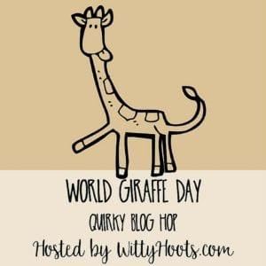 World Giraffe Day Quirky Blog Hop Badge