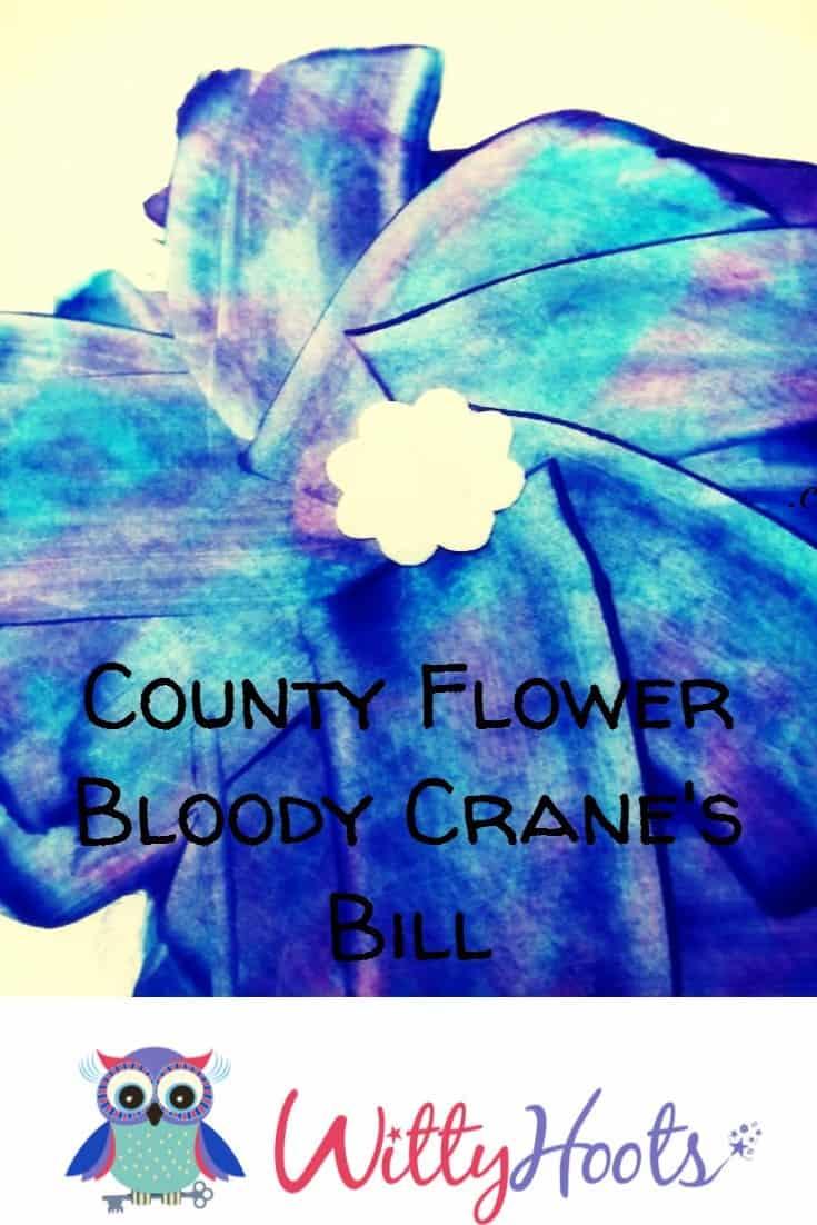 Bloody Cranes Bill Pinterest Witty Hoots